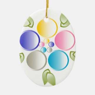 Flower Christmas Ornament