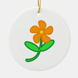 Flower Christmas Ornament