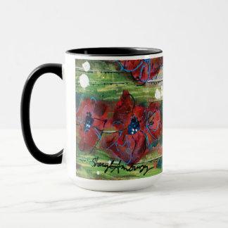 Flower Coffee & Tea Mug Original Artwork