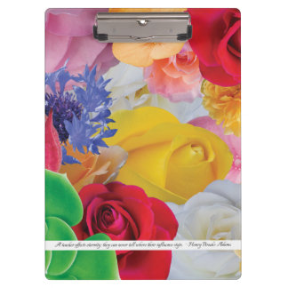 Flower Collage, for teachers - Clipboard