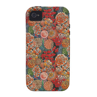Flower Crazy iPhone 4 Case-Mate Case