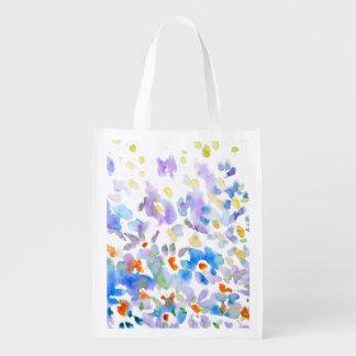 ''Flower dance'' Reusable Grocery Bag