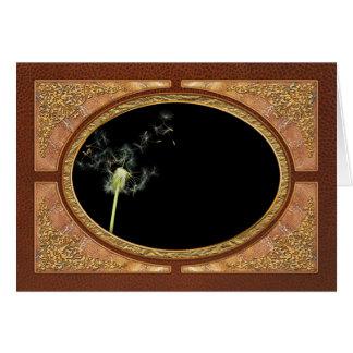 Flower - Dandelion - Gesundheit Greeting Card