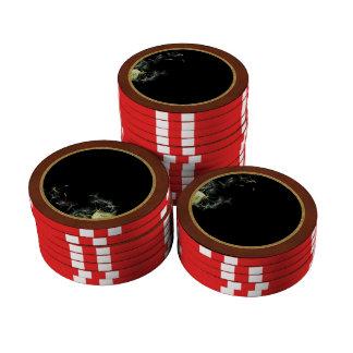 Flower - Dandelion - Gesundheit Poker Chips