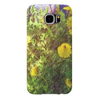 Flower dandelion samsung galaxy s6 cases