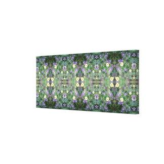 Flower Dapple 771 Fractal Floral Canvas Panel