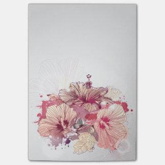 Flower Decor 56 Post-it® Notes