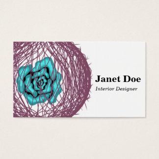 Flower Design Business Card