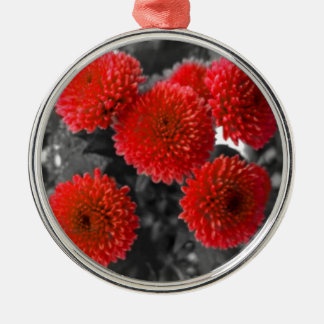 Flower Design Christmas Ornament