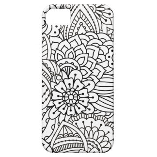Flower Design Doodle iPhone 5 Cover