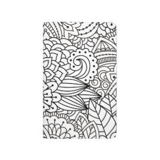 Flower Design Doodle Journal