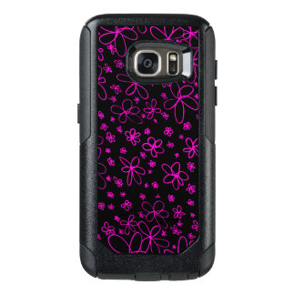 Flower Doodle Pink OtterBox Samsung Galaxy S7 Case