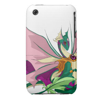 Flower Dragon iPhone 3G/3Gs Cover iPhone 3 Case-Mate Cases