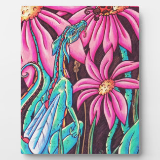 'Flower Dragon' Plaque