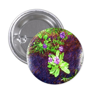 Flower Drawing photo 3 Cm Round Badge