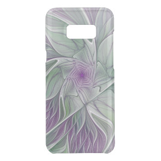 Flower Dream, Abstract Purple Green Fractal Art Uncommon Samsung Galaxy S8 Plus Case