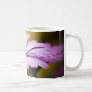 Flower Drops of Rain Basic White Mug