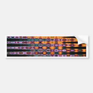 flower effect bumper sticker