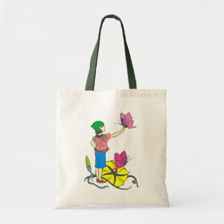 Flower elf more flower eleven tote bag