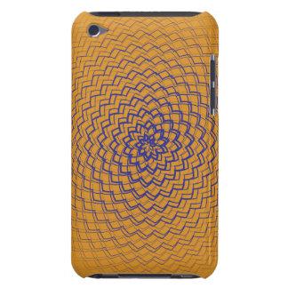 Flower Energy Pattern Orange Case-Mate iPod Touch Case
