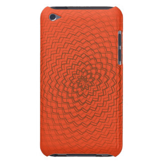 Flower Energy Pattern Oranges iPod Touch Case