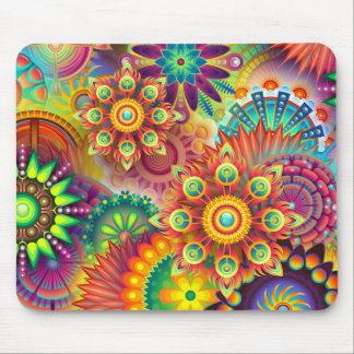 Flower explosion Mosemat Mouse Mat