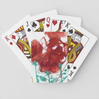 Flower Expression I Playing Cards