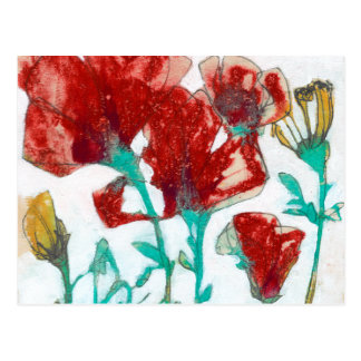 Flower Expression II Postcard