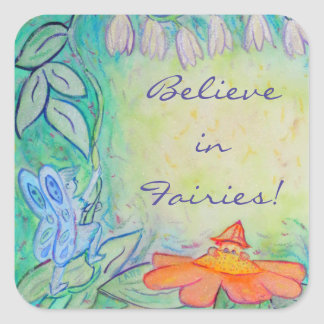 Flower Fairies Garden Art Custom Sticker Decals