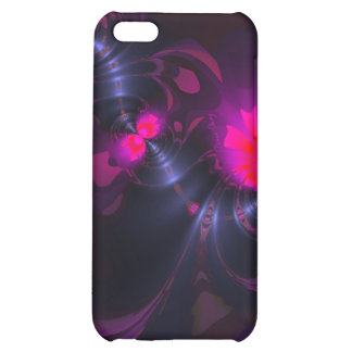Flower Fairy, Abstract Rose and Magenta Ribbons iPhone 5C Covers