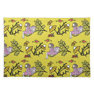 Flower Fairy and Dairy Pattern Placemat