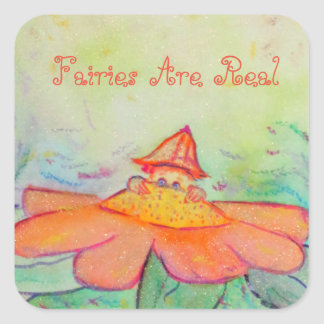 Flower Fairy Garden Art Customized Stickers