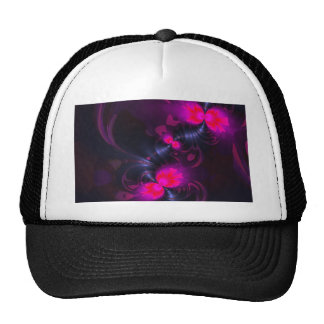 Flower Fairy – Rose and Magenta Ribbons Hat