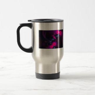 Flower Fairy – Rose and Magenta Ribbons Mug