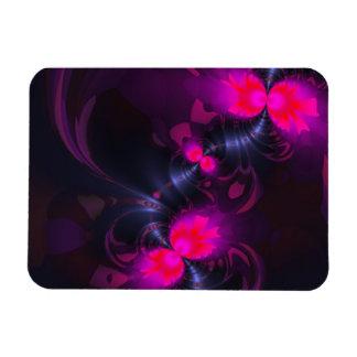 Flower Fairy – Rose and Magenta Ribbons Vinyl Magnet