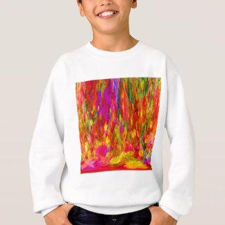 Flower Fal of bright flower coloursl Sweatshirt
