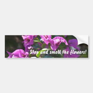 Flower Fancy Bumper Sticker