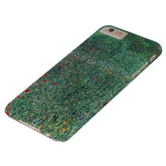 Flower Field in Litzlberg Klimt, Vintage Landscape Barely There iPhone 6 Plus Case