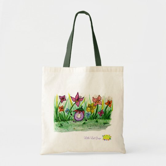 Flower Field Little Llost Grape bag