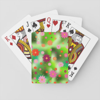 flower fields poker deck