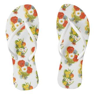 Flower Flip-flops Flip Flops