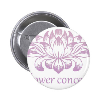 Flower Floral Abstract Concept Icon 6 Cm Round Badge