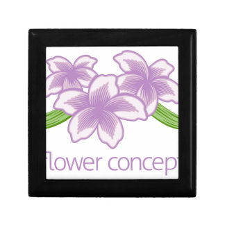 Flower Floral Florist Icon Small Square Gift Box