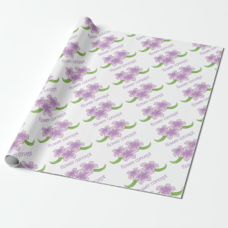 Flower Floral Florist Icon Wrapping Paper