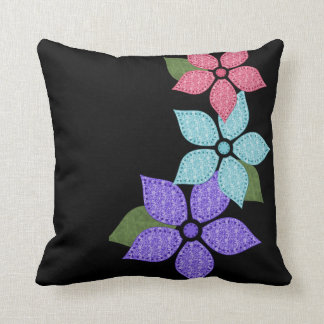 Flower Floral Pillow Throw Cushion