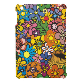Flower floral skin for ipad iPad mini covers