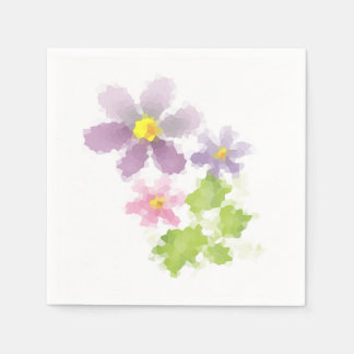 Flower flower mosaic 2 disposable napkins