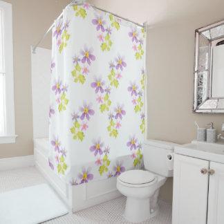 Flower flower mosaic 2 shower curtain