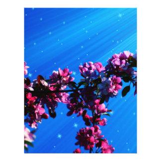 "Flower 8.5"" X 11"" Flyer"