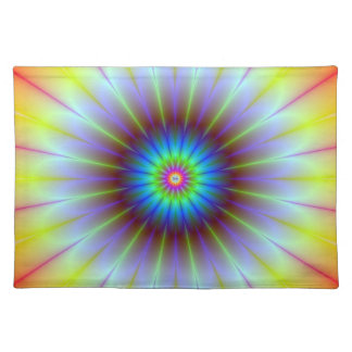 Flower Fractal American MoJo Placemats